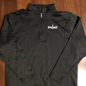 Nike Golf L Black Pullover Bernzomatic